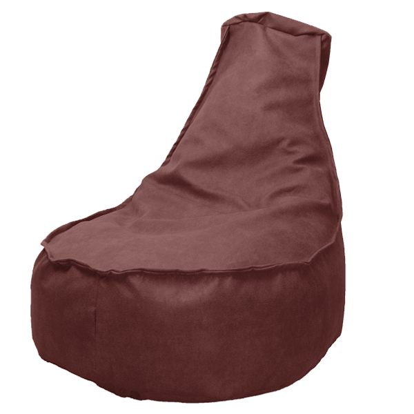 drop-en-sit-leatherstoel-bordeaux