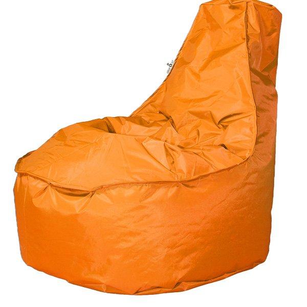 Bolletjes Voor Zitzak.Drop Sit Noa Zitzak Stoel Oranje