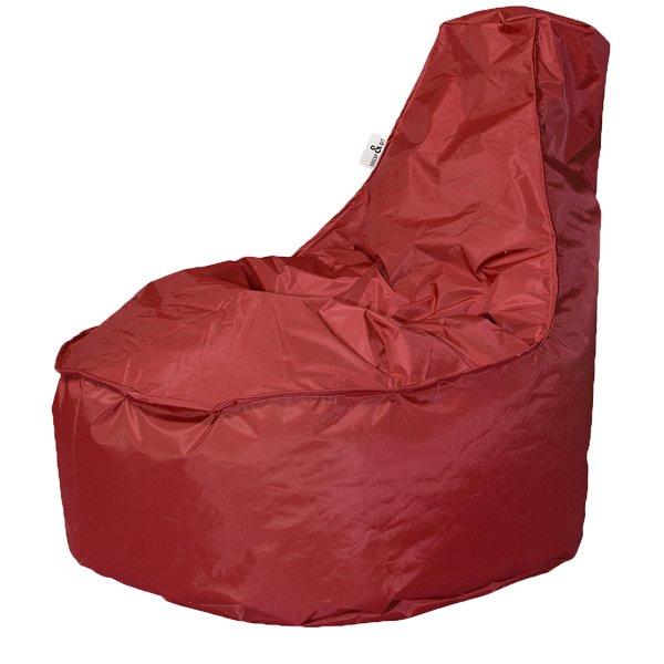 Zwart Leren Zitzak.Drop Sit Noa Zitzak Stoel Rood Zitzak Van De Hoogste Kwaliteit