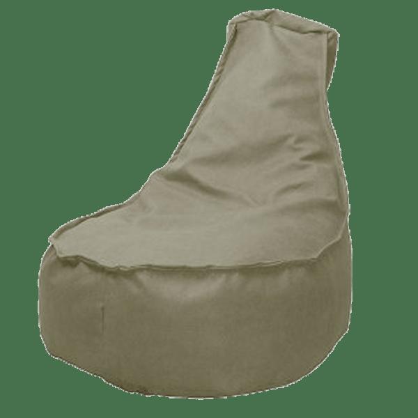 Leather-look-zitzakstoel-leverbeige